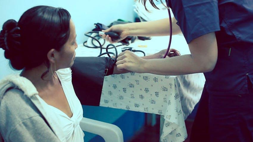 Volunteer abroad nurse in Peru with IVHQ