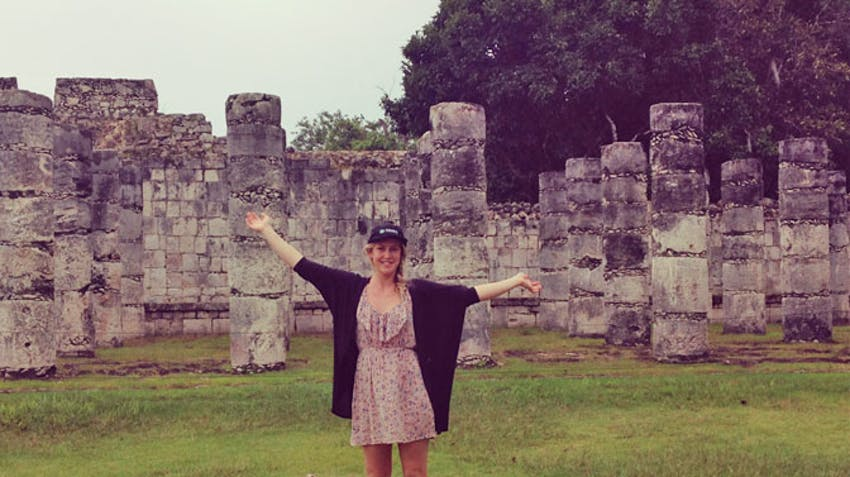 A visit to Chichen Itza during an IVHQ volunteer abroad program