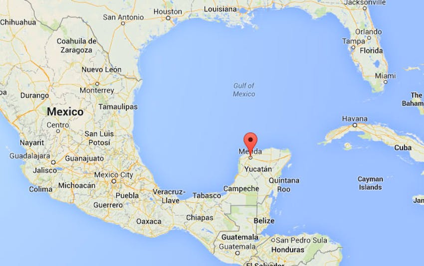 The location of the IVHQ Mexico volunteer program