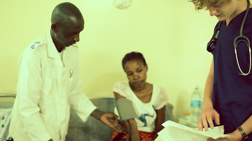 Volunteer on the medical project in Tanzania with IVHQ
