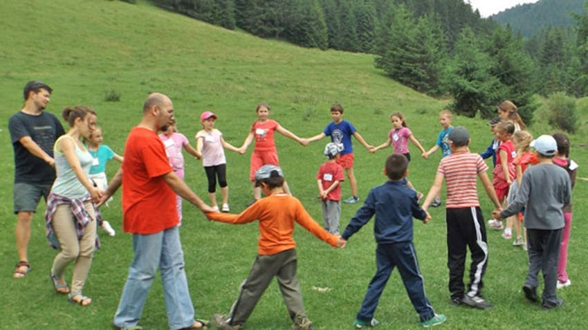 Volunteer in childcare in Transylvania with IVHQ