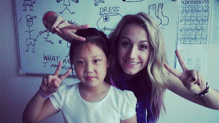 IVHQ volunteer in China