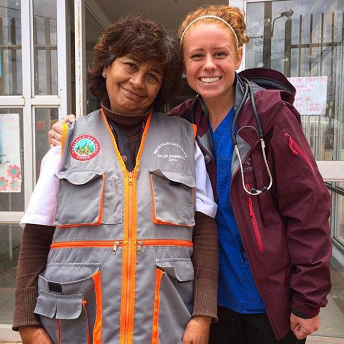 IVHQ Volunteer on a Medical Project