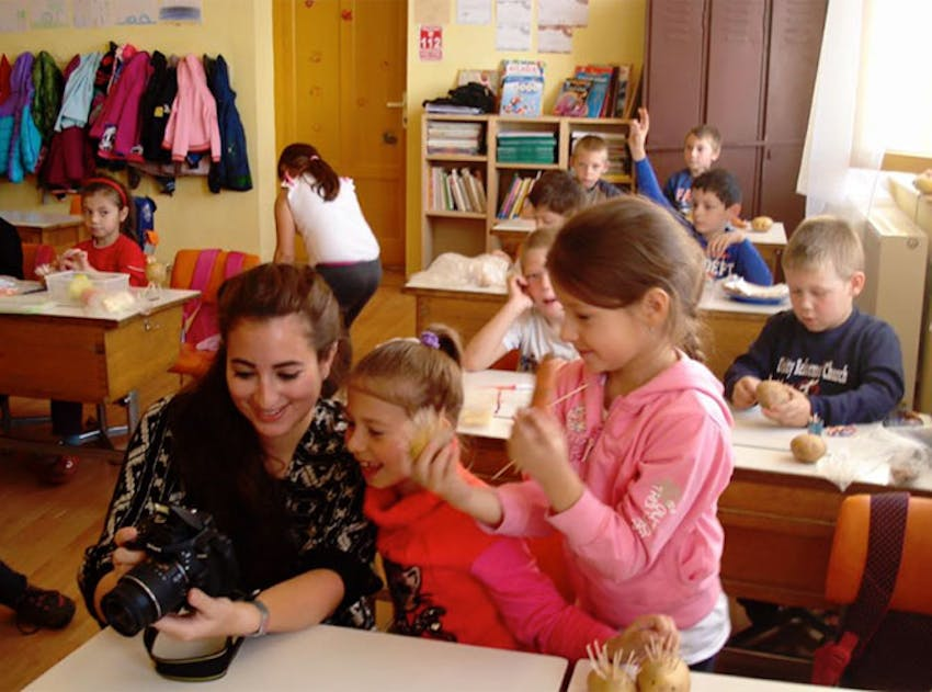 Teaching volunteer in Romania with IVHQ