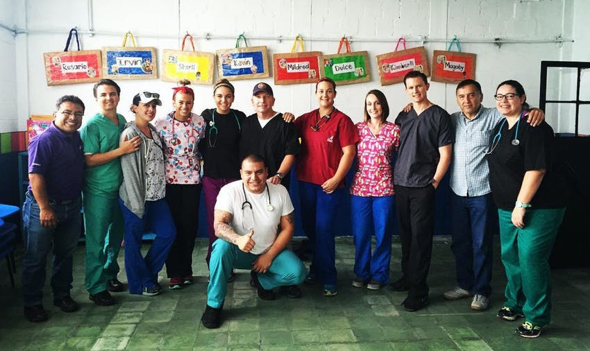 Where will you volunteer on your medical mission