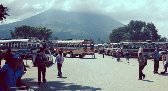 Public transport as a volunteer in Guatemala with IVHQ
