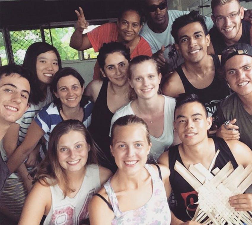 Meet with other IVHQ volunteers in Fiji