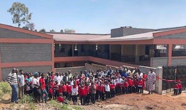 The Volunteer That Built A School In Kenya