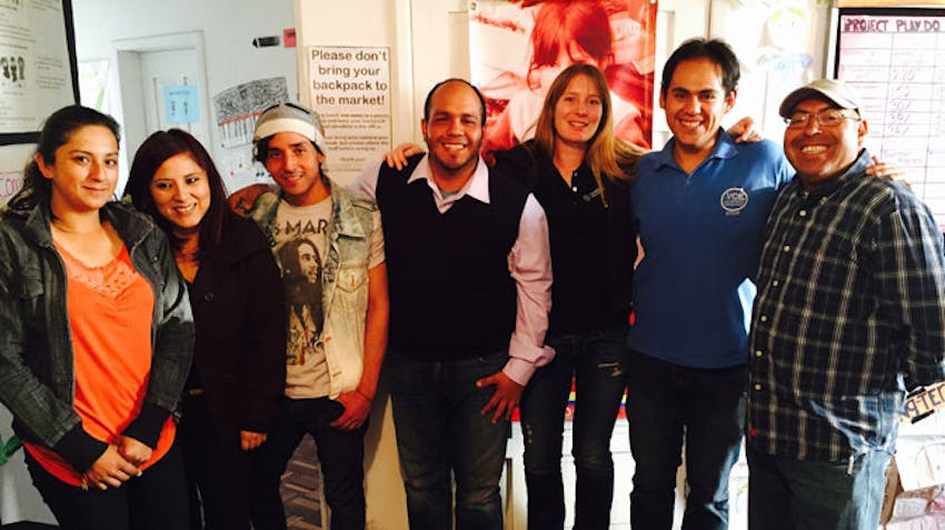 NGO Support volunteers in Ecuador with IVHQ