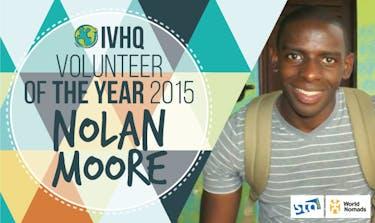 IVHQ Volunteer of the Year Winner