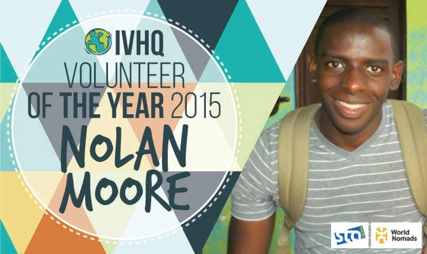 Nolan Moore - Volunteer of the Year 2015