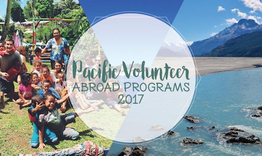Pacific Volunteer Abroad Programs 2017