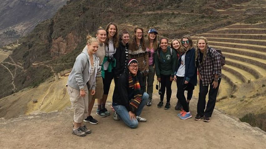 Volunteers visit the Sacred Valley in Peru with IVHQ