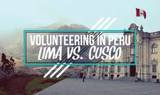 Volunteering in Peru: Lima vs. Cusco