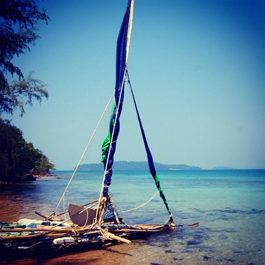 Visit Bamboo Island in Cambodia during an IVHQ weekend in Cambodia