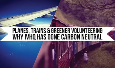 Why has IVHQ Gone Carbon Neutral?