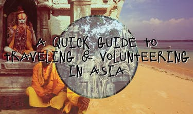 Traveling And Volunteering In Asia with IVHQ