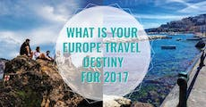 What Is Your Europe Travel Destiny For 2017