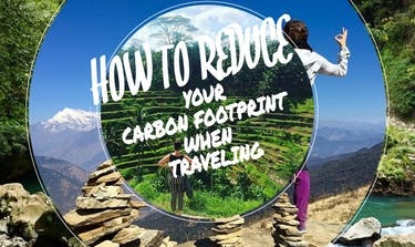 How To Reduce Your Carbon Footprint When Traveling with IVHQ