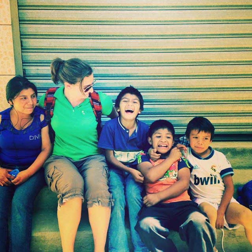 Volunteer in Guatemala with IVHQ