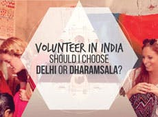 Should I Choose Delhi or Dharamsala?