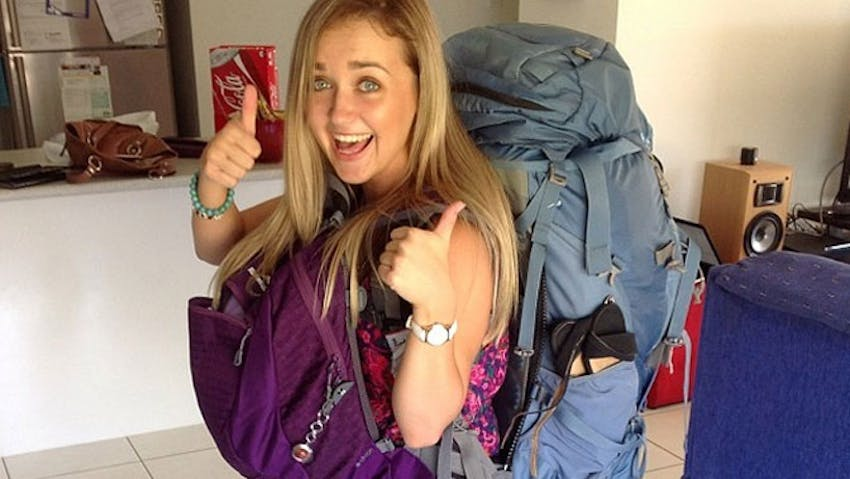 Should you use a backpack or a suitcase when you volunteer abroad?