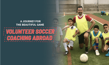 Volunteer soccer coaching abroad