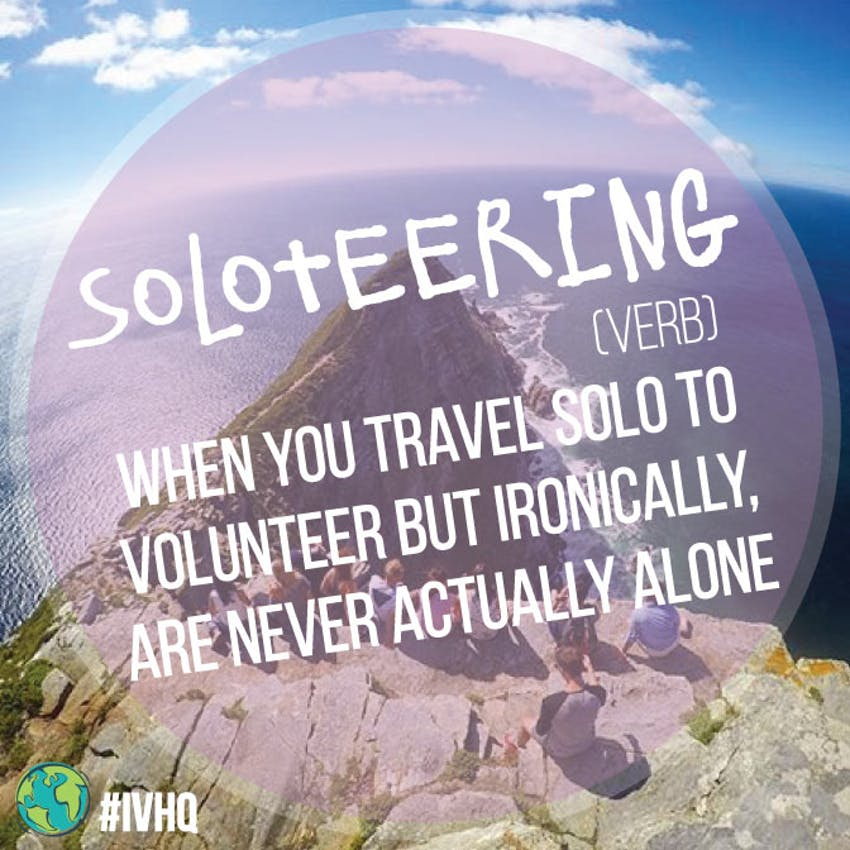 IVHQ - Soloteering
