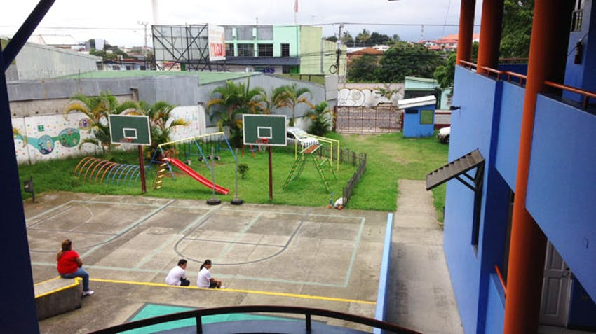 One of the IVHQ Costa Rica Special Education project playgrounds