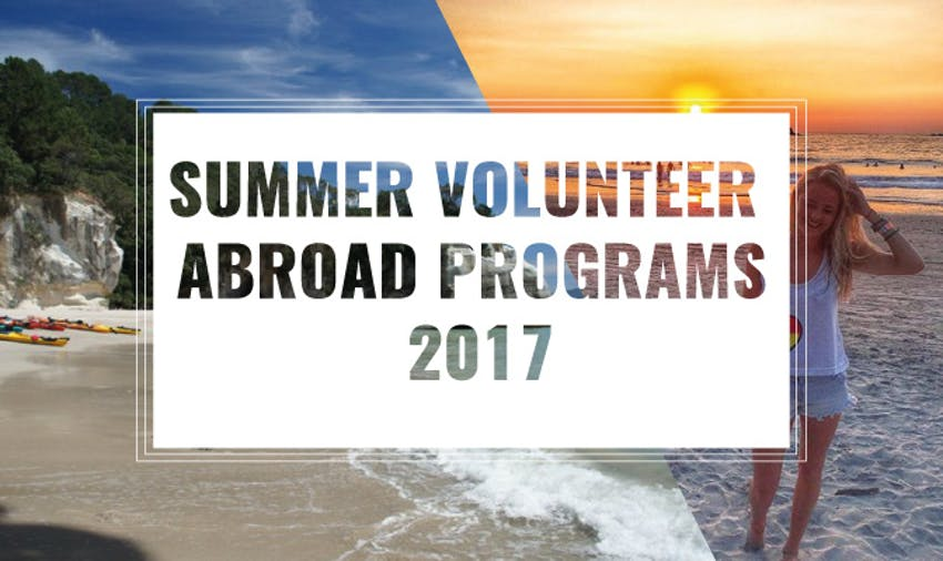 Top Summer Abroad Programs 2017
