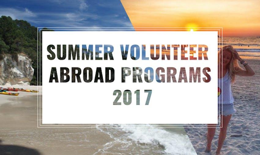 Top Summer Abroad Programs 2017