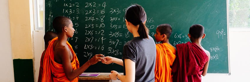 Win a teach and volunteer scholarship