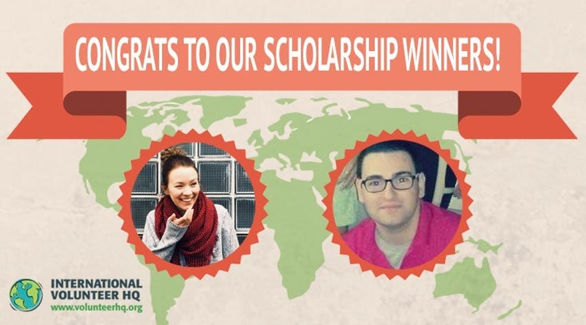 IVHQ volunteer scholarship winners 2015