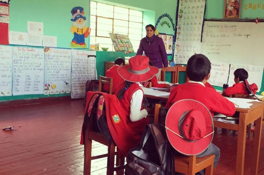 Teaching English as an IVHQ volunteer in Peru with IVHQ