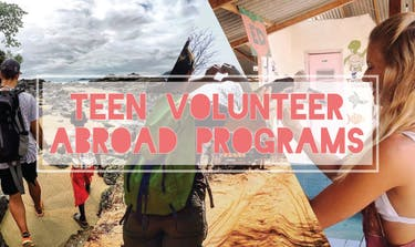 Teen Volunteer Abroad Programs with IVHQ