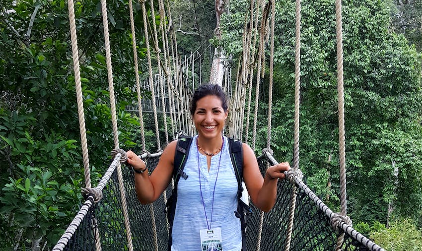 Walk through the treetops in Ghana