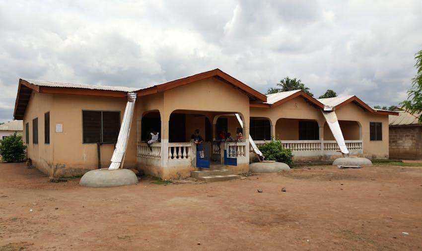 IVHQ volunteer accommodation in Ghana