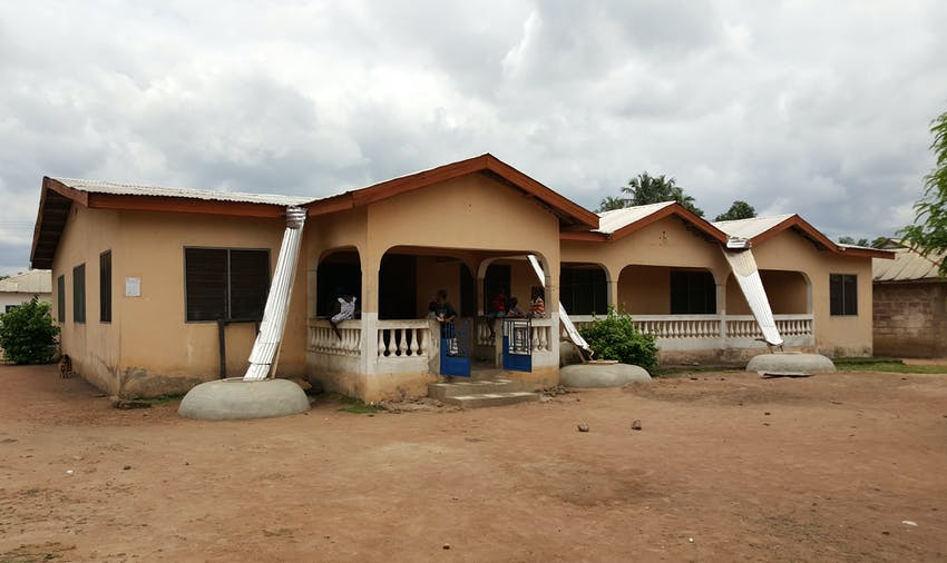 IVHQ volunteer accommodation in Ghana
