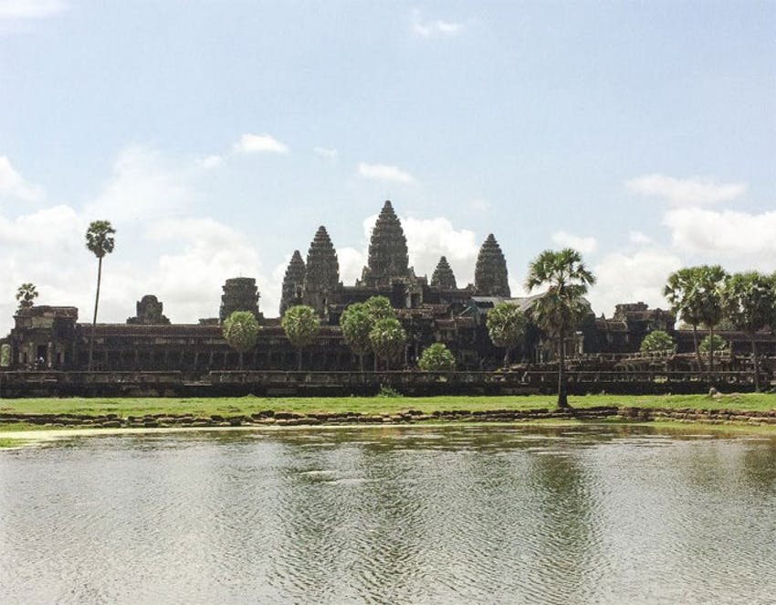 Visiting the Temples of Angkor Wat as a Senior volunteer with IVHQ in Cambodia