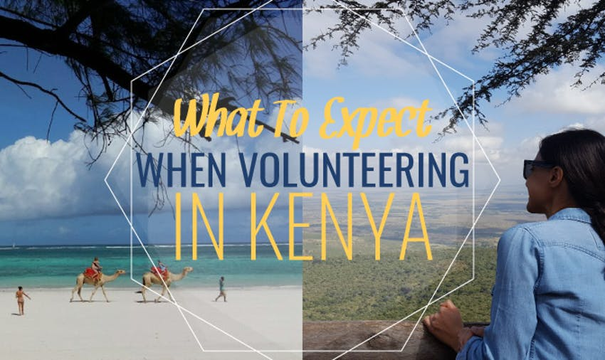 What To Expect When Volunteering In Kenya - by Sara Pashaei