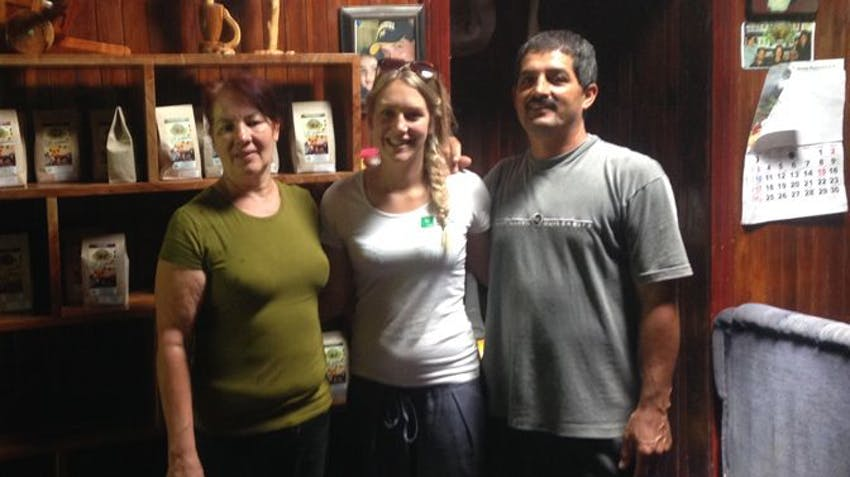 Meeting the IVHQ volunteer home stay hosts in Costa Rica!