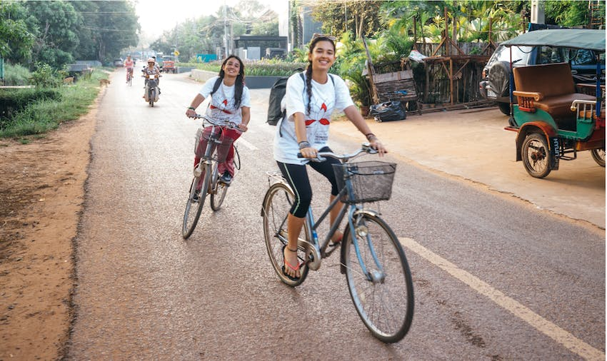 Volunteer in Cambodia with IVHQ during Schoolies