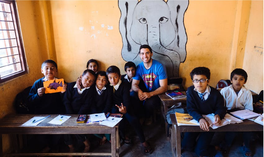 Become an IVHQ volunteer in Nepal during Schoolies 2019