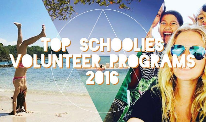 Find the best Schoolies Volunteer Programs for 2017