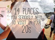 Places You Seriously Need To Visit In Your 20s