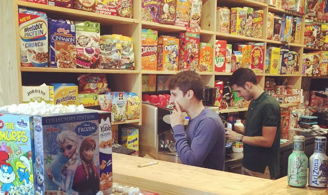 Visit a cereal only store in Madrid!