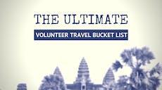 The Ultimate IVHQ Volunteer Travel Bucket List
