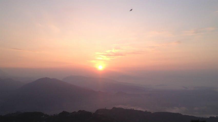 IVHQ Staff Member's View Of Sunrise On Sarankot