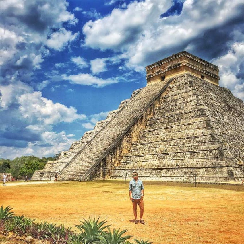 Visit Chichen Itza as a volunteer in Mexico with IVHQ