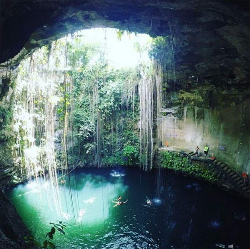 Visit a Cenote in Mexico as an IVHQ volunteer